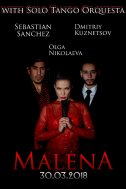MALENA – Сюжет спектакля – известная Танго-песня «Малена»